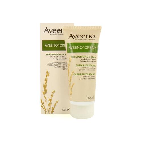 Aveeno Moisturising Cream - 100 ml (Für trockene und empfindliche Haut)