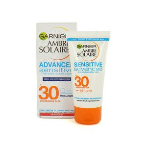 Ambre Solaire Advanced Sensitive SPF 30 Sonnencreme - 50 ml (Ausländische Verpackung)