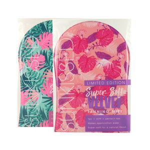 Super Soft Velvet Tanning Mitt - Limited Edition (2 Stück)