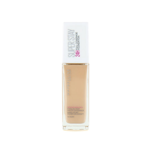 Maybelline SuperStay 24H Full Coverage Foundation - 10 Ivory