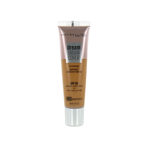 Maybelline Dream Urban Cover Foundation - 336 Golden Bronze
