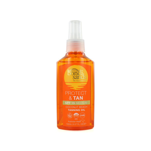 Bondi Sands Protect & Tan Tanning Oil - 150 ml (LSF 15)