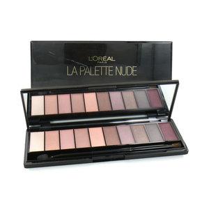 La Palette Nude Lidschatten Palette - Rosé (2 Stück - Beschädigte Box)