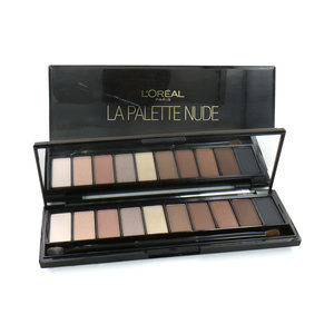 La Palette Nude Lidschatten Palette - Beige (2 Stück - Beschädigte Box)