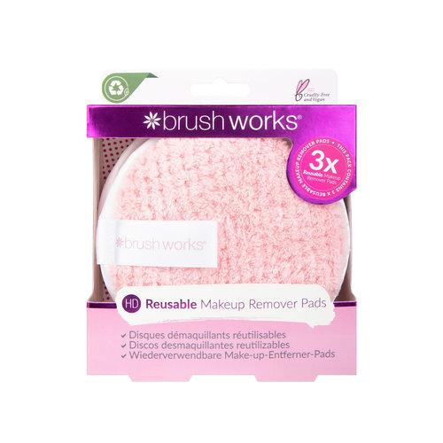 Brushworks HD Reusable Makeup Remover Pads (3er Set)
