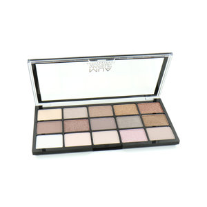 15 Shade Lidschatten Palette - Heavenly Neutral
