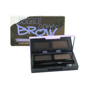Double Down Brow Augenbrauenpuder - Dark Drapes