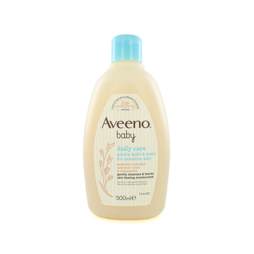 Aveeno Daily Care Baby Gentle Bath & Wash - 500 ml (Für empfindliche Haut)