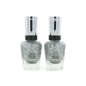 Salon Manicure Nagellack - 824 Crystal Star (Satz von 2 Stück)