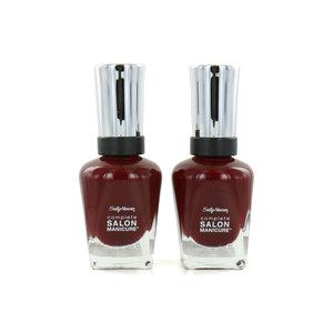 Salon Manicure Nagellack - 610 Red Zin (Satz von 2 Stück)