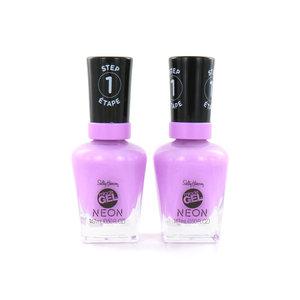 Miracle Gel Nagellack - 054 Violet Voltage (Satz von 2 Stück)