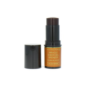 Miracle Sheer Gel - 005 Light Bronze