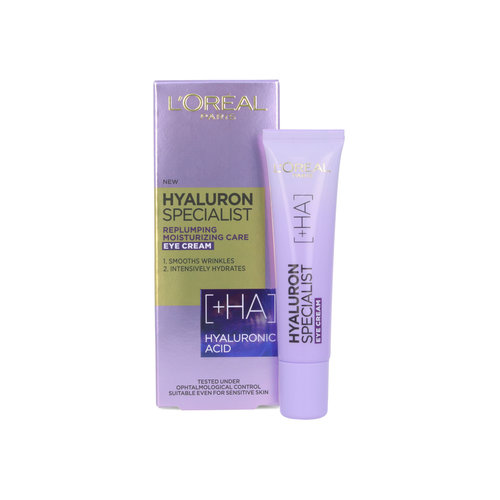 L'Oréal Hyaluron Specialist Replumping Augencreme