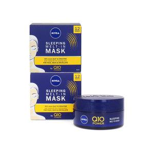 Q10 Sleeping Melt-In Maske - 2 x 50 ml (Satz von 2 Stück)