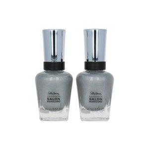 Salon Manicure Nagellack - 825 Silver Wonderland (Satz von 2 Stück)