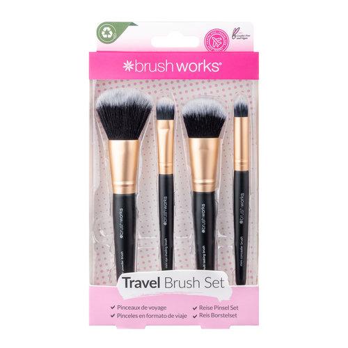 Brushworks Travel Makeup Brush Set
