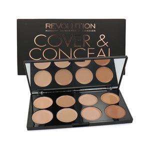 Cover & Conceal Cream Palette - Light-Medium