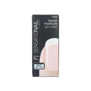 Gel Color Nagellack - French Manicure Clear