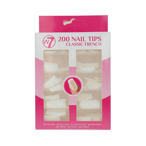 200 Nail Tips - Classic French