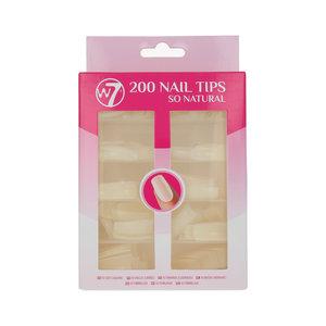 200 Nail Tips - So Natural
