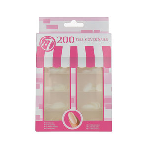 200 Full Cover Nails - Oval