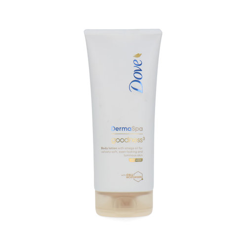 Dove DermaSpa Goodness 3 Body Lotion - 200 ml (Für trockene Haut)