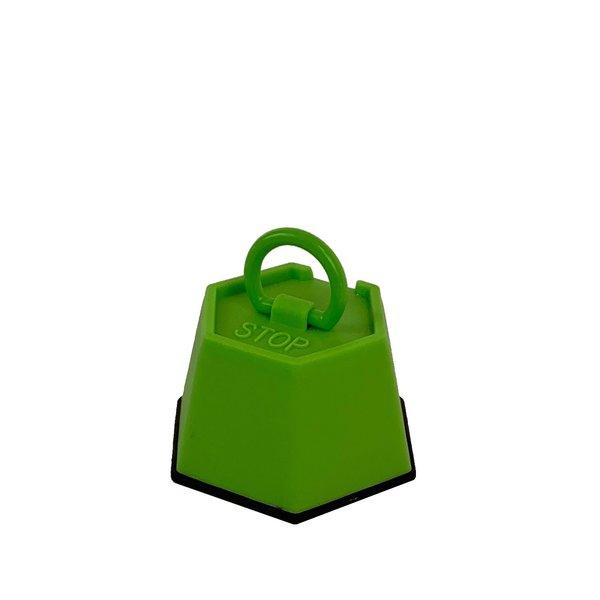 Deurstopper plastic stop groen