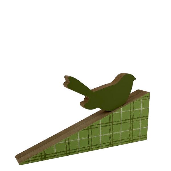 Houten deurwig vogel design 1