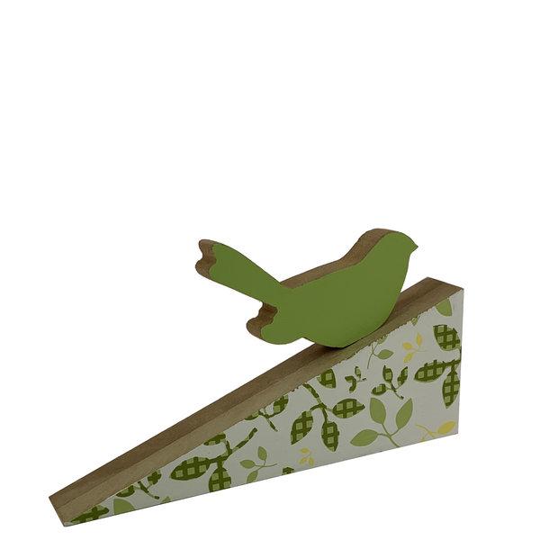 Houten deurwig vogel design 2