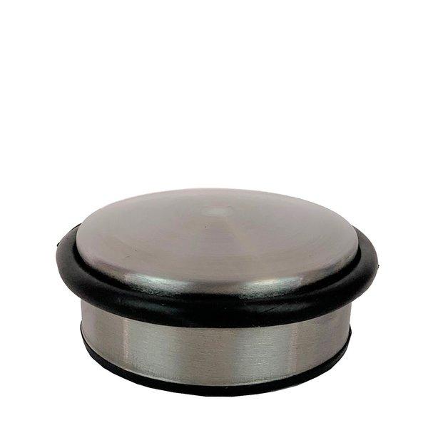 Deurstopper metaal breed laag