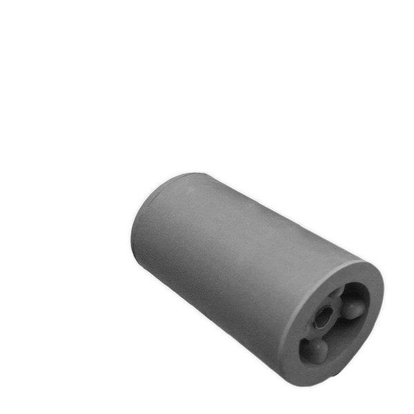 Deurbuffer rubber 75mm grijs