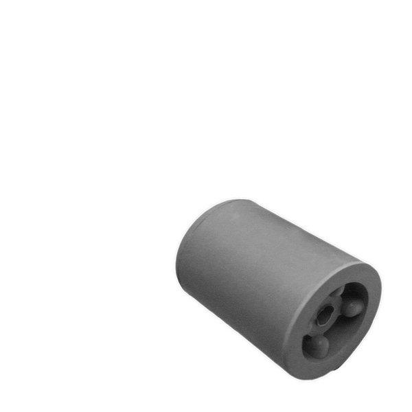 Deurbuffer rubber 50mm grijs