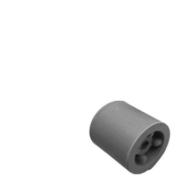 Deurbuffer rubber 35mm grijs