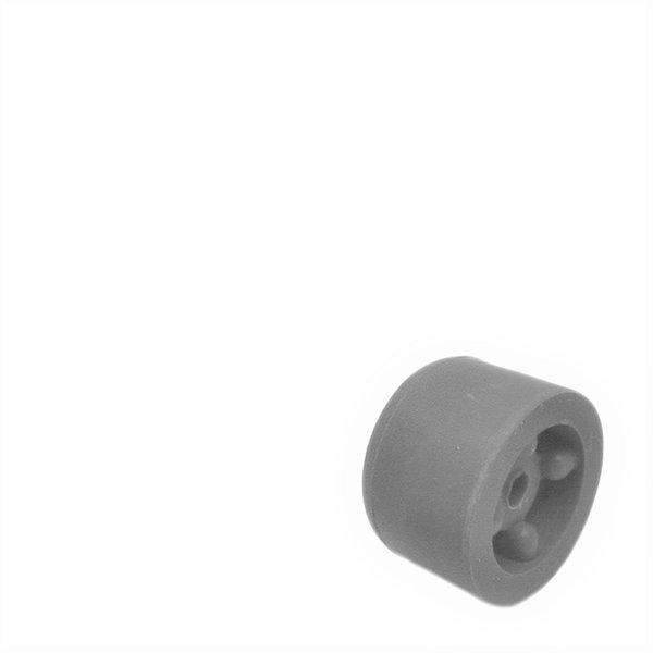 Deurbuffer rubber 25mm grijs