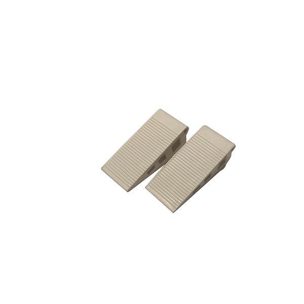 Kleine rubberen deurwig (set 2 stuks)