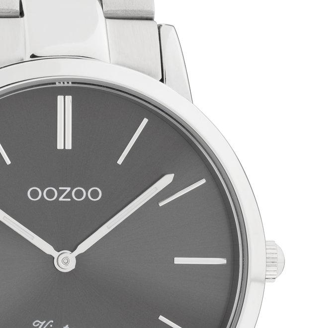 Next Generation - unisex - stainless steel armband zilver met zilver horlogekast