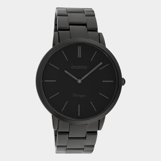 Next Generation - unisexe - bracelet en stainless steel noir / noir