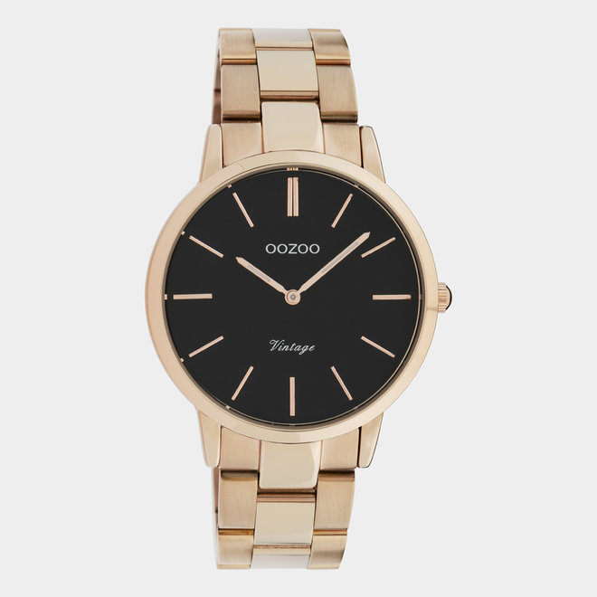 The Next Generation - unisex - stainless steel bracelet rose gold with rose gold watch case