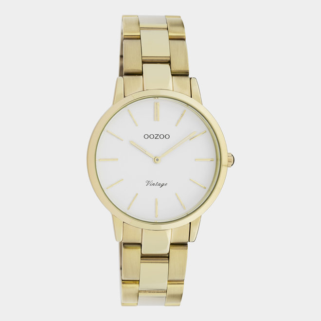The Next Generation - unisex - stainless steel bracelet gold with gold watch case