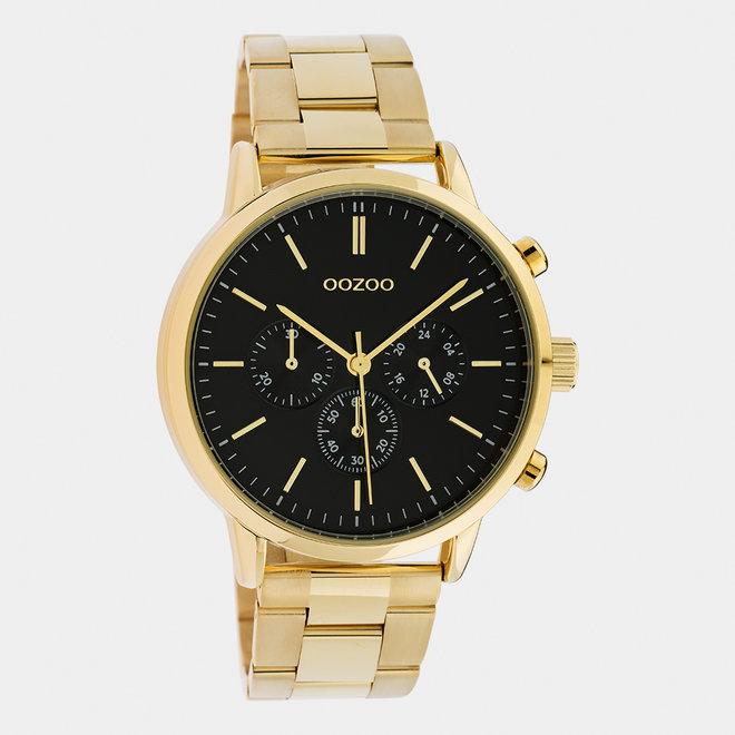 OOZOO Timepieces - unisexe - bracelet en stainless steel or / or