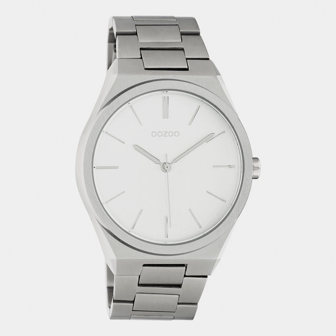 OOZOO Timepieces - unisexe - bracelet en stainless steel argent / argent