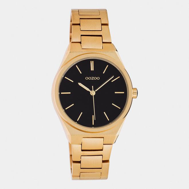 OOZOO Timepieces - unisexe - bracelet en stainless steel or rose met or rose horlogekast