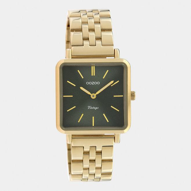 Vintage series - dames - stainless steel armband goud  / goud