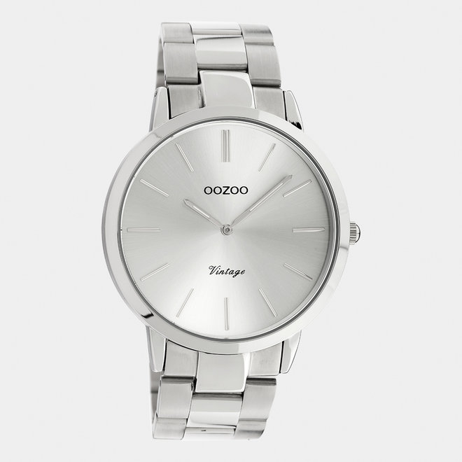 The Next Generation - unisex  - stainless steel bracelet silver  with silver  watch case