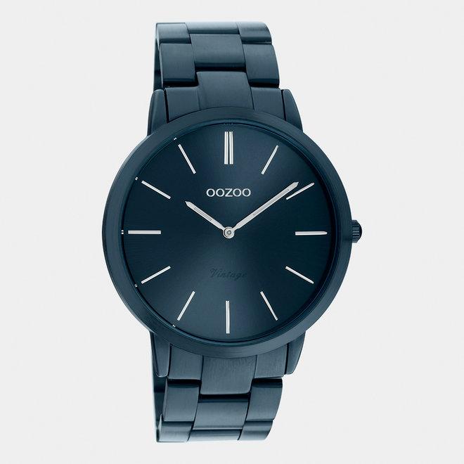 Next Generation - unisexe - bracelet en stainless steel bleu foncé / bleu foncé