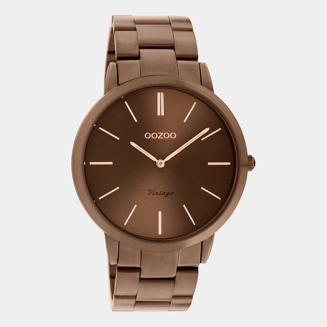 The Next Generation - unisex  - stainless steel bracelet brown  / brown