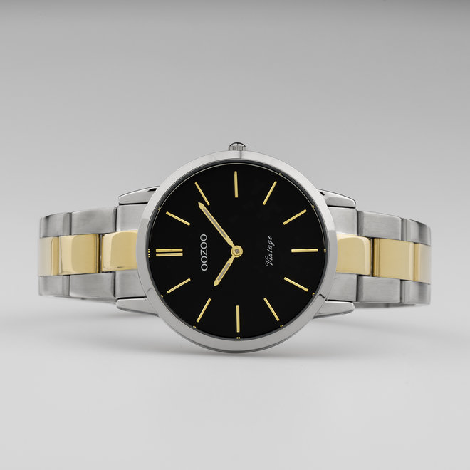The Next Generation - unisex  - stainless steel bracelet silver/gold  with silver/gold  watch case