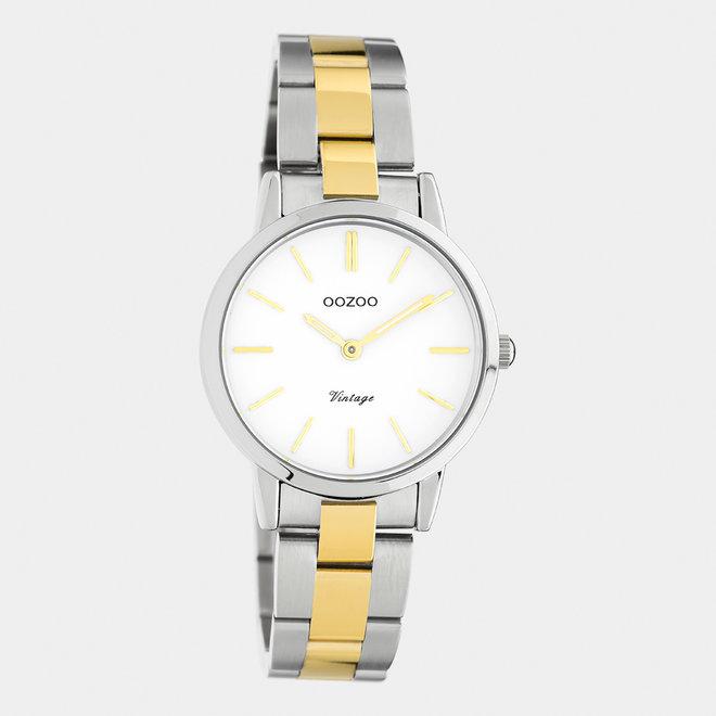 Next Generation - unisexe - bracelet en stainless steel argent-or / argent