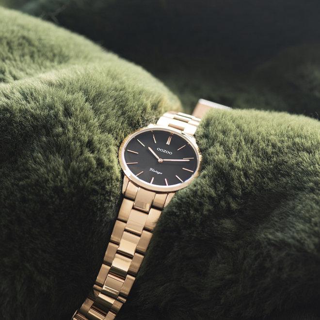 Next Generation - unisexe - bracelet en stainless steel or rose avec or rose