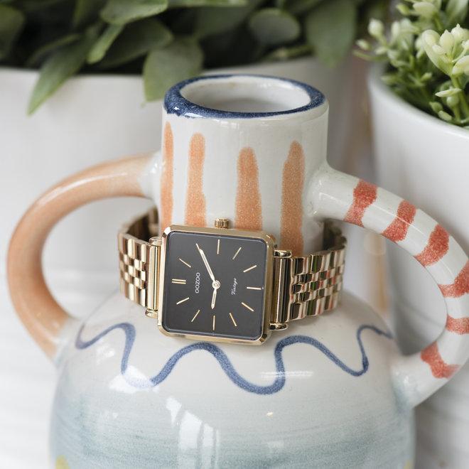 Vintage series - femmes - bracelet en stainless steel or avec or